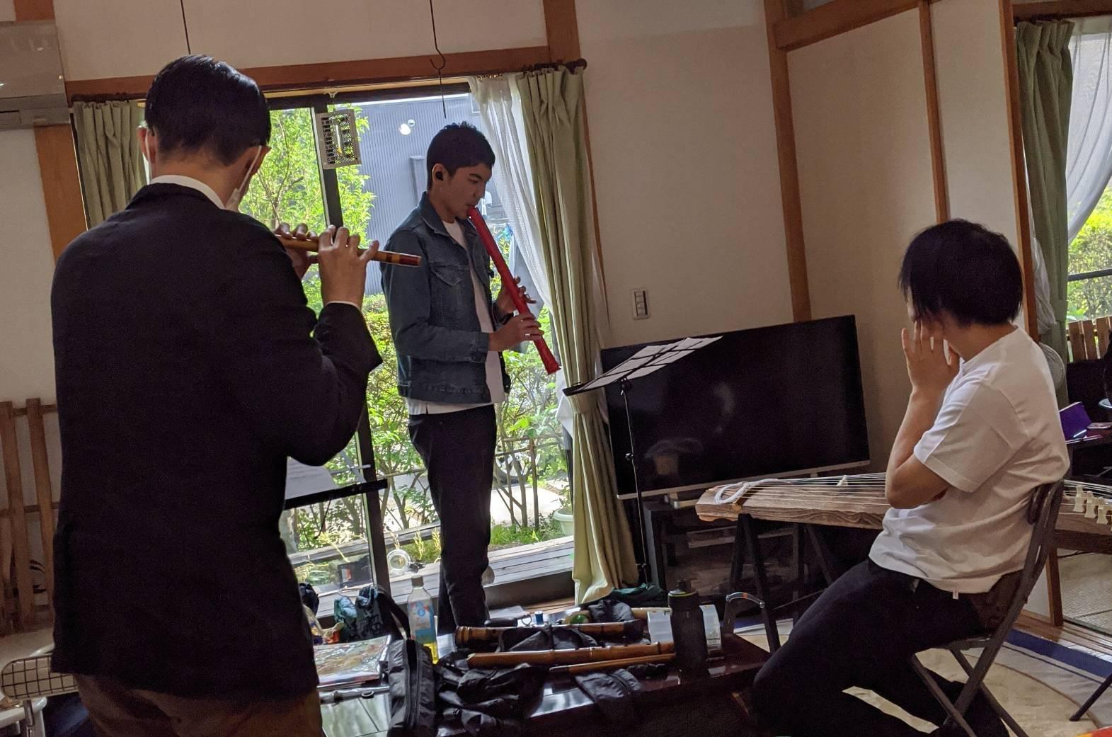 東村山のむかし話和楽器音楽化プロジェクト